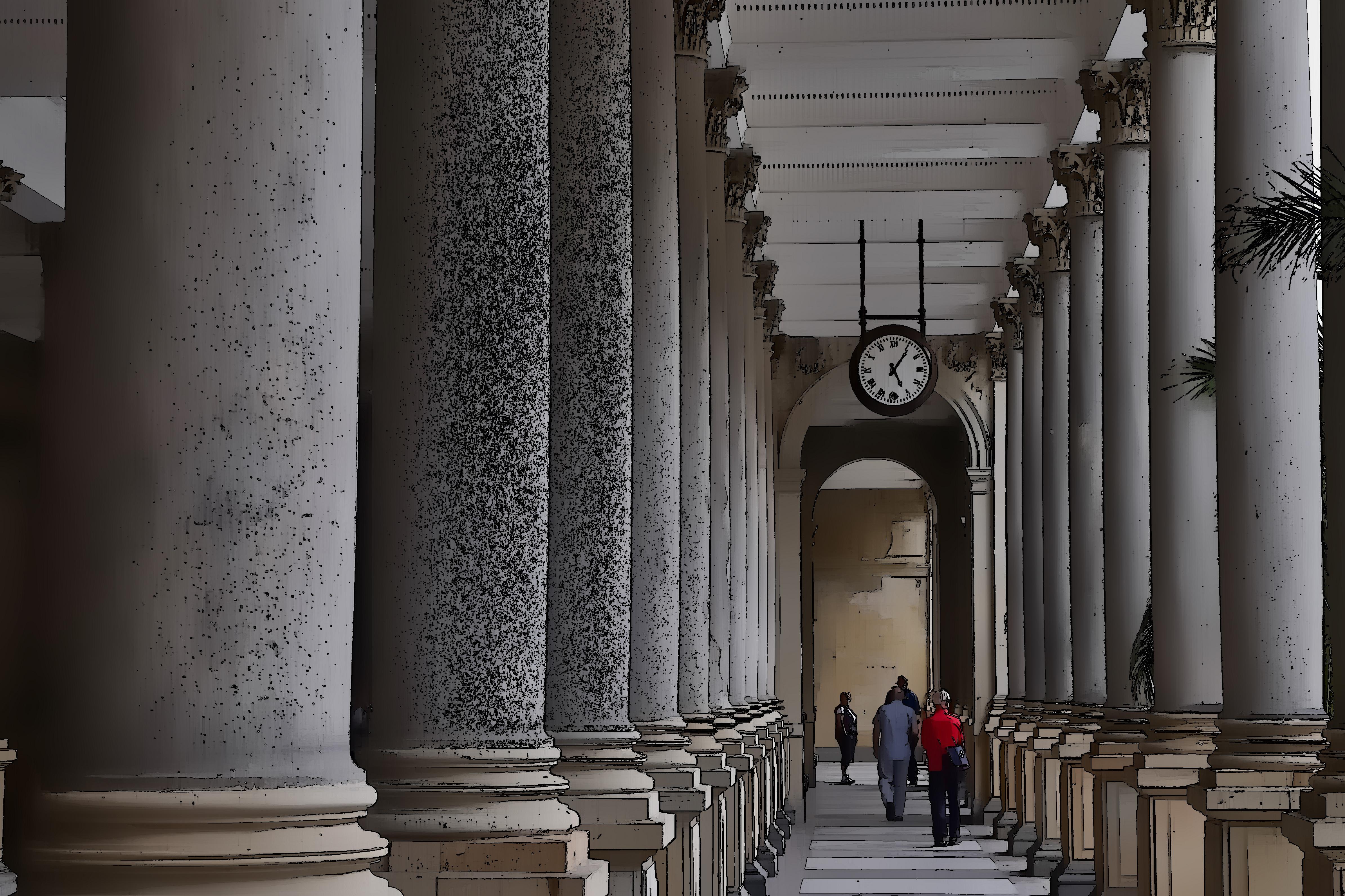 Säulengang / colonnade