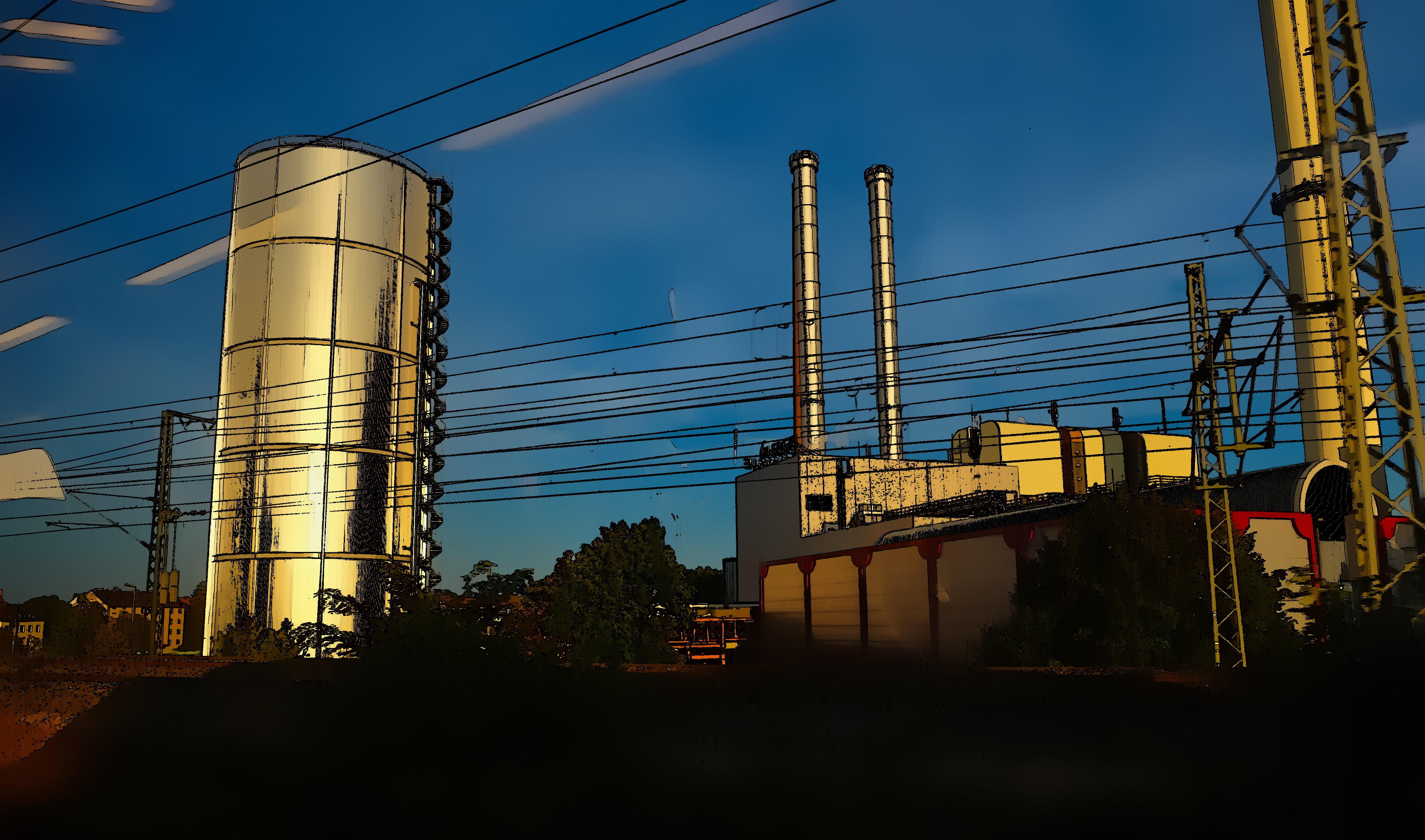 Nürnberger Kraftwerk / Nuremberg powerstation