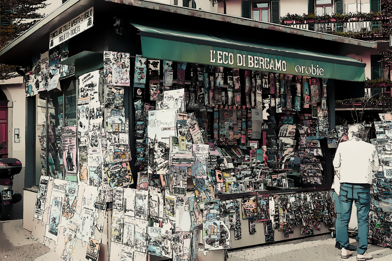 Zeitungskiosk / newspaper kiosk